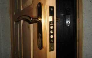 Дверной врезной замок — особенности данного типа изделий и описание процесса установки