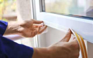 Замена уплотнителя пластиковых окон своими руками: инструменты, выбор материала, этапы (видео)