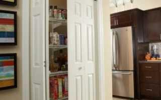 Двери в кладовку: особенности выбора
