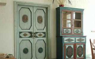Двери в стиле «прованс»