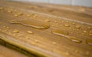 Гидроизоляция дерева от бетона
