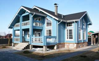 Как выполняется покраска деревянных домов снаружи