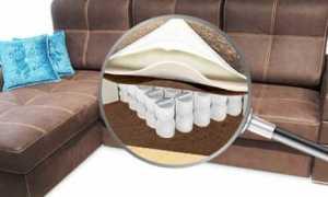 Варианты наполнителей для диванов, что лучше по качеству