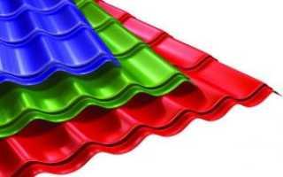 Использование металлочерепицы для покрытия крыш и основные ее преимущества