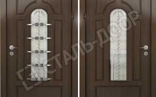Двери со стеклянными элементами