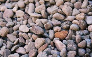 Гравий-натуральный камень : описание и особености, фото