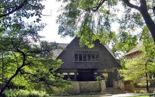 Авторский проект дома знаменитого архитектора Ф. Л. Райта