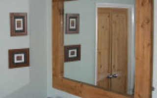 Деревянная рама для зеркала своими руками: подготовка элементов, сборка и отделка