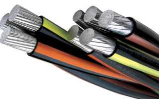 Виды кабелей СИП, сечение и конструктивные особенности