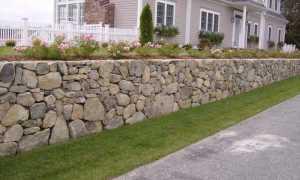 Виды подпорных стенок и их классификация