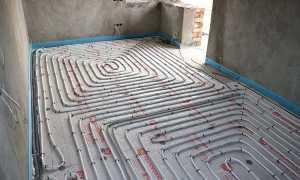 Иду в строительный магазин – что купить для устройства водяного теплого пола в ванной?