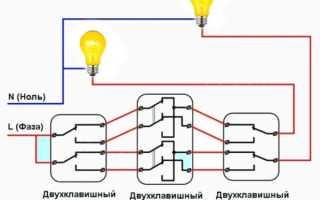 Зачем нужен проходной выключатель на 3 точки с подсветкой: схема подключения и как он работает