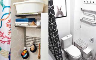 5 вариантов подставок для хранения средств для душа в вашей ванной