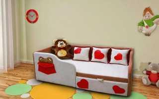 Детский выкатной диван: вся суть
