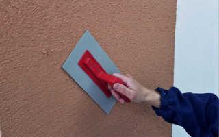 Как выполняется штукатурка фасадная своими руками