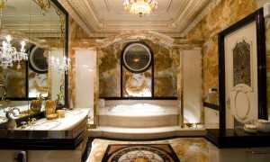 40 фото – Роскошные интерьеры ванных комнат