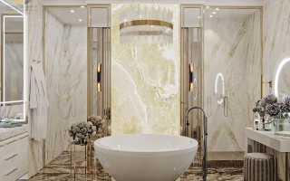 Дизайнерский интерьер ванной – 8 удивительных примеров